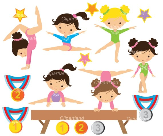 Subscribe 7th. Instant download gymnastics girls