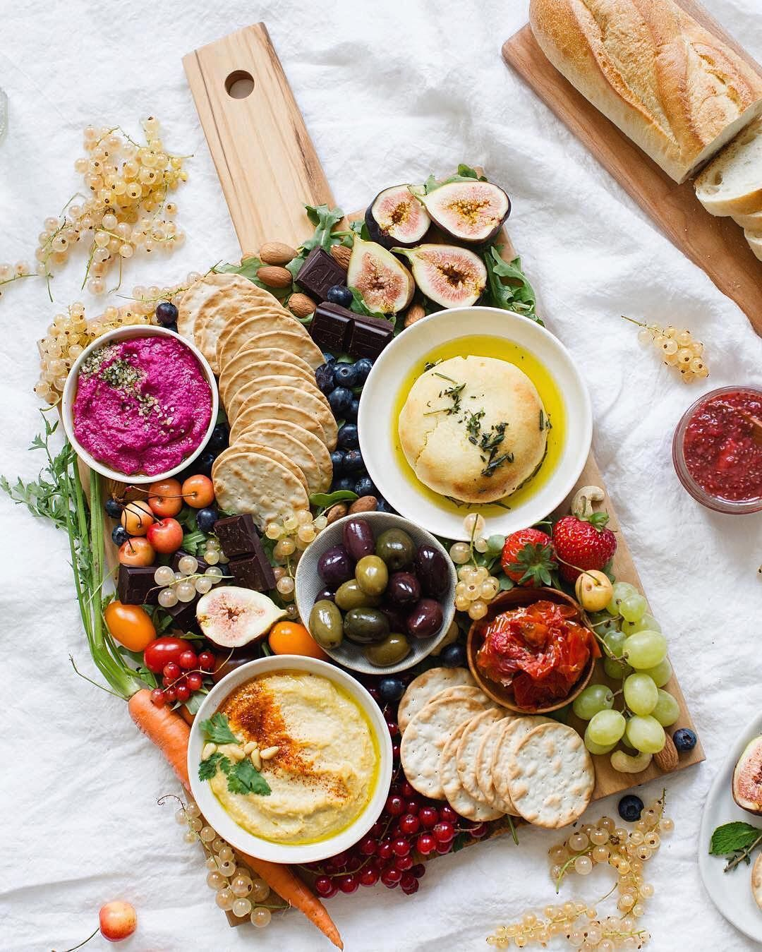 Vegan Wedding Food: Humpday Platter Goals! We Fell In Love At First Sight With