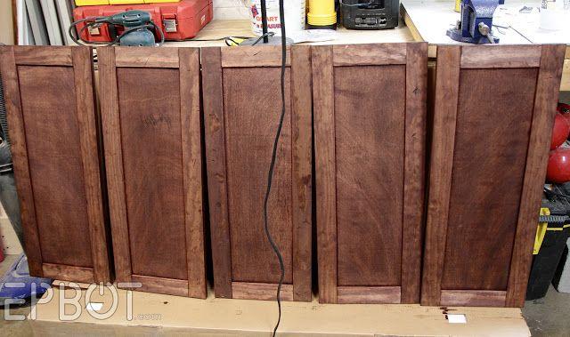 Epbot Diy Vintage Rustic Cabinet Doors Diy Cabinet Doors Kitchen Diy Makeover New Kitchen Diy