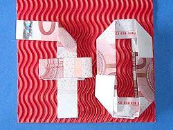 Geldgeschenke Zum 70 Geburtstag Verpacken Gifts Birthday Und