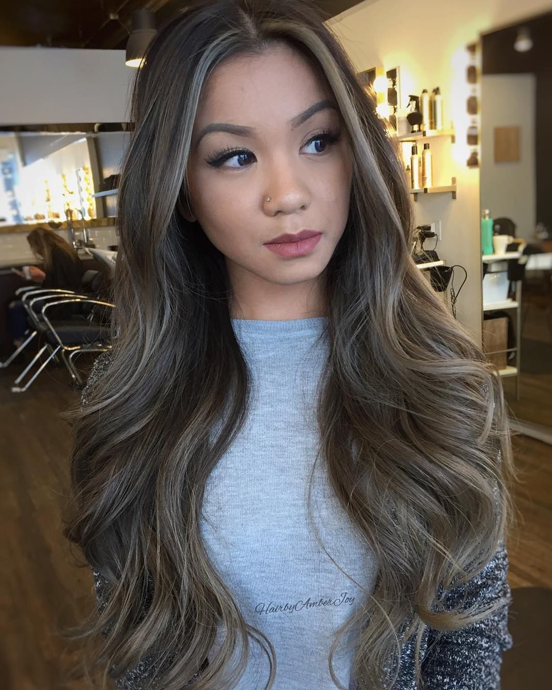 """Winnipeg Hairstylist on Instagram: """"Smokey Silver Blonde."""""""