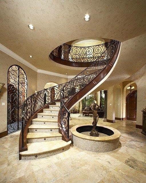 Modelos de escaleras de interiores escaleras casas for Modelos de casas interiores