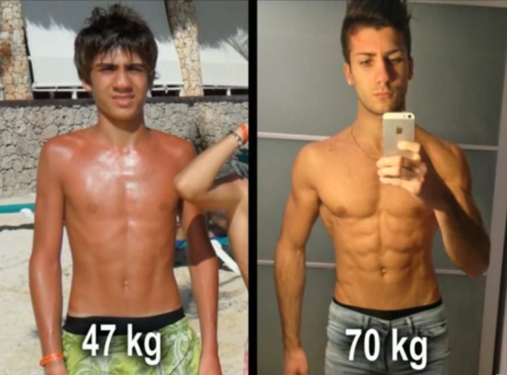 From lean to muscular