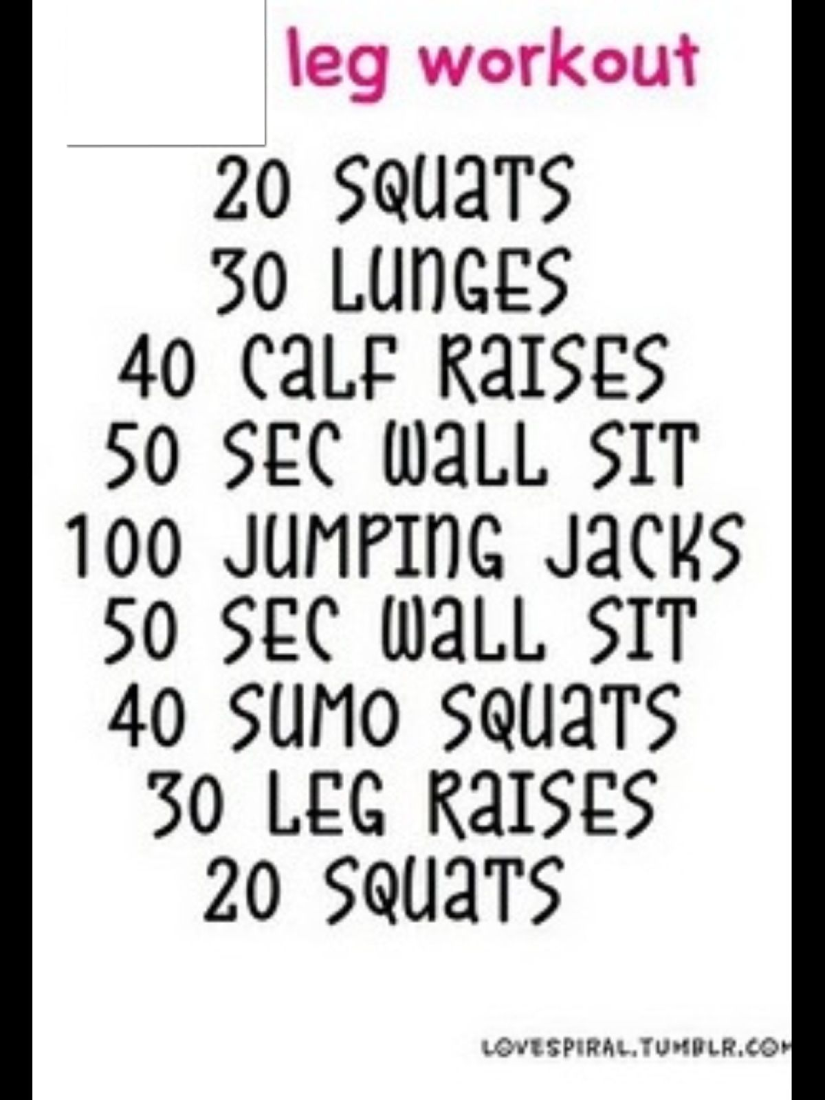 Leg Workout Click For At Home Leg Workouts