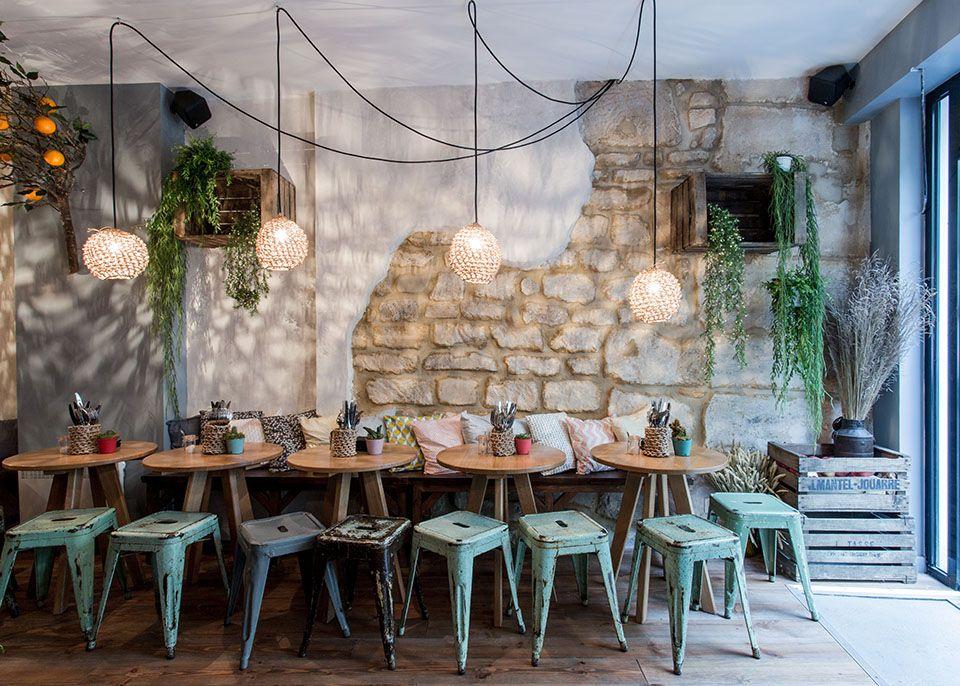 La cave à vin du Haut Marais | interior - cafe restaurant en ...
