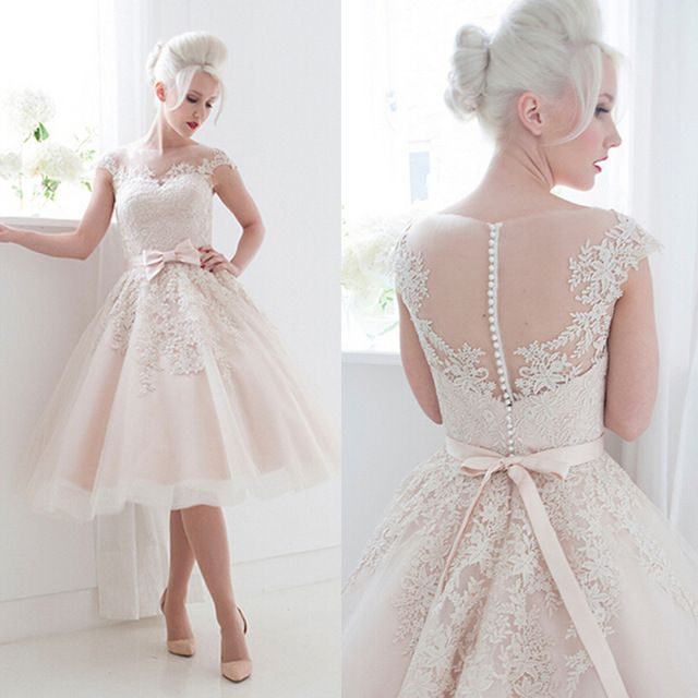 Pin On Short Wedding Dress Bridal Gown