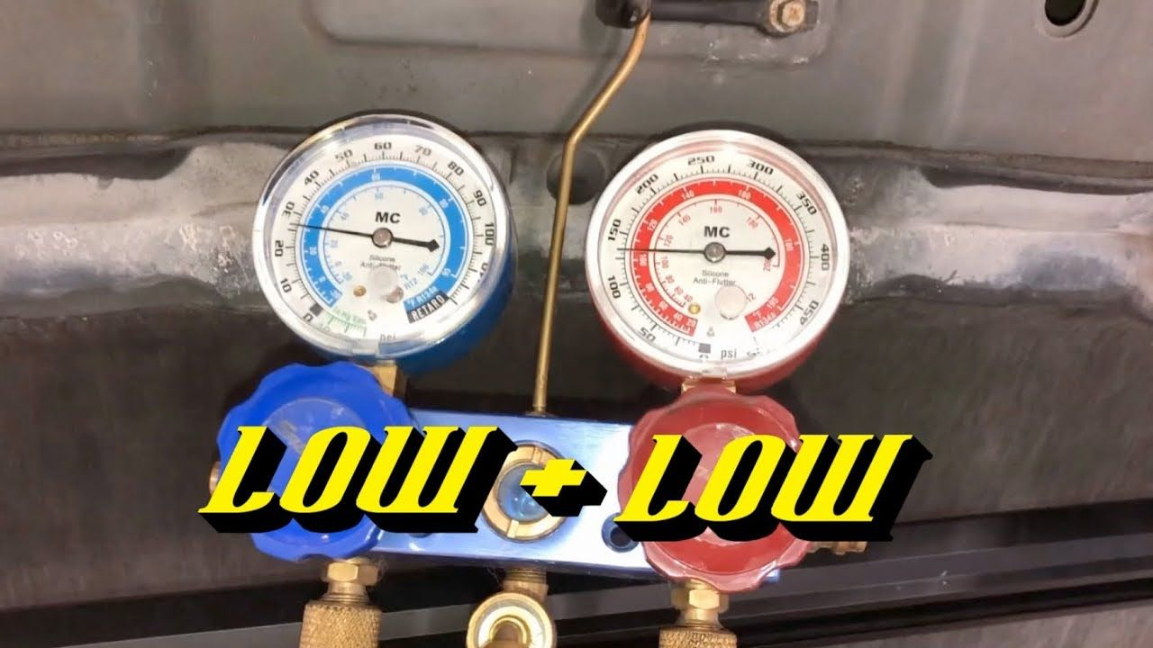 Poor Automotive A/C Cooling Do You Have a Low Refrigerant