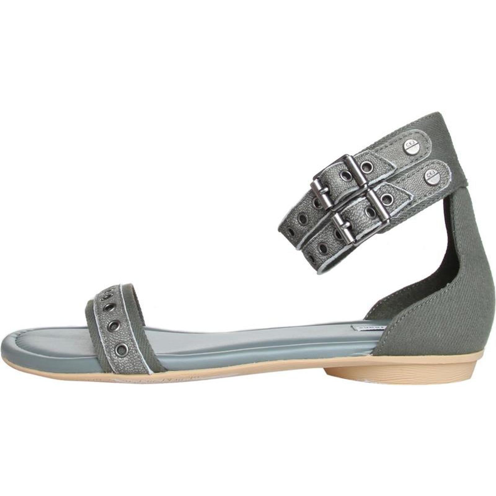 Calvin Klein Jeans Layla Damen Leder Sommer Schuhe Sandalen Sandaletten Pantoletten Calvin Klein Sommer Sandalen Schuhe Sandalen Sandaletten Sandalen