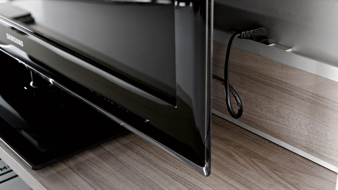 Outlet For Tv Valcucine Living Tutum Open Space Living House