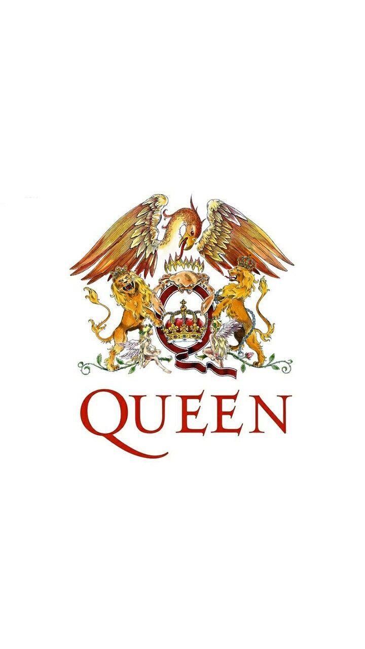 Queen Logo | Bands ️ en 2019 | Queen lyrics, Queen band y Queens wallpaper