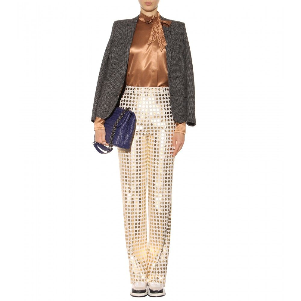 Printed Trousers ◊ Bottega Veneta.