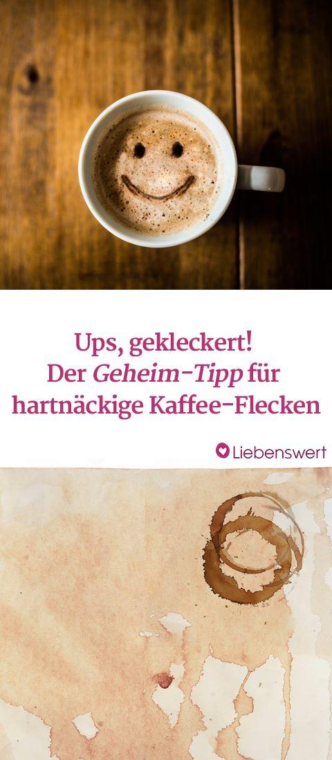 Kaffeeflecken entfernen: Welche Tipps helfen wirklich?   Die besten ...
