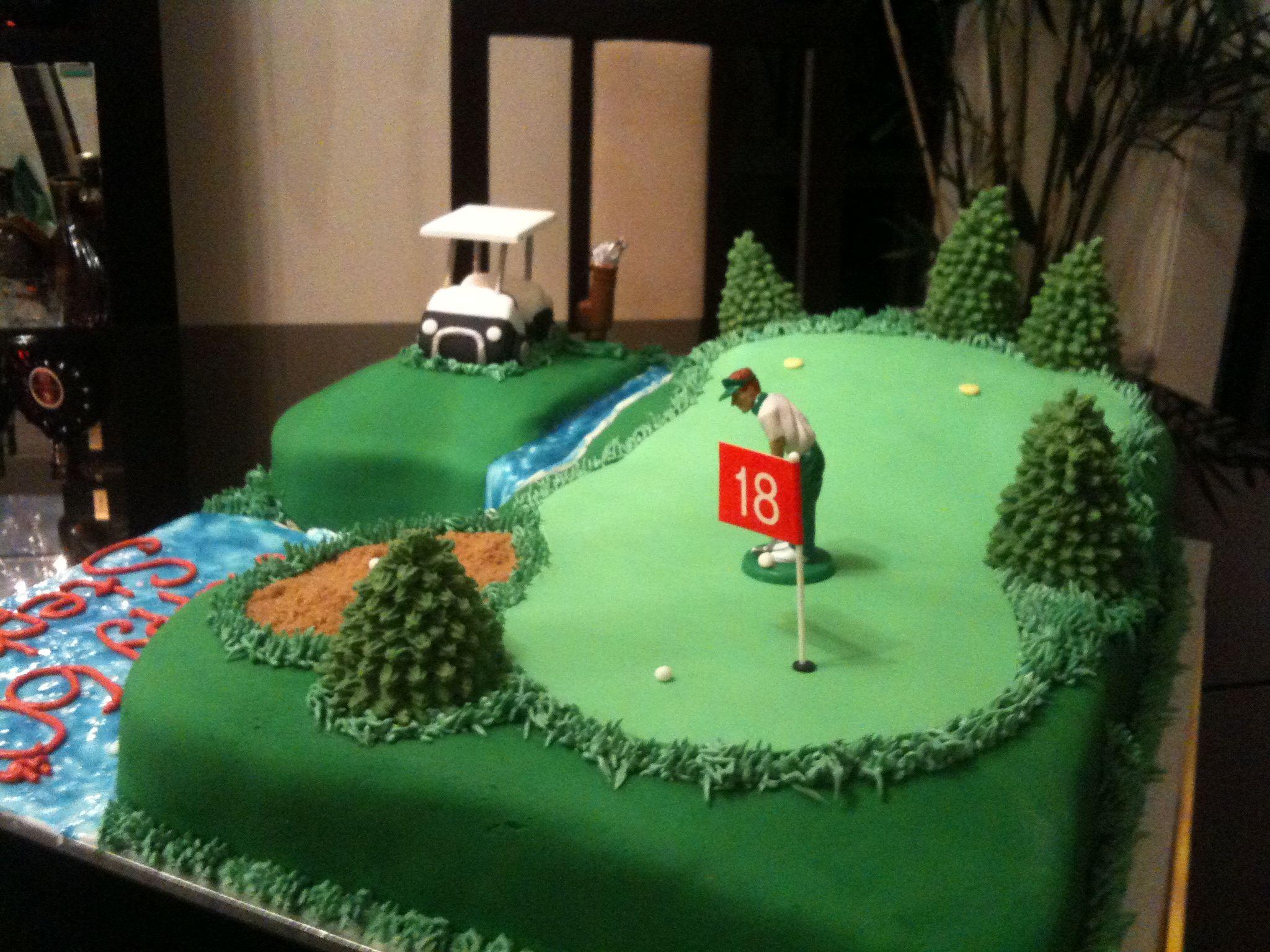 Australian Golf Cakes Picture