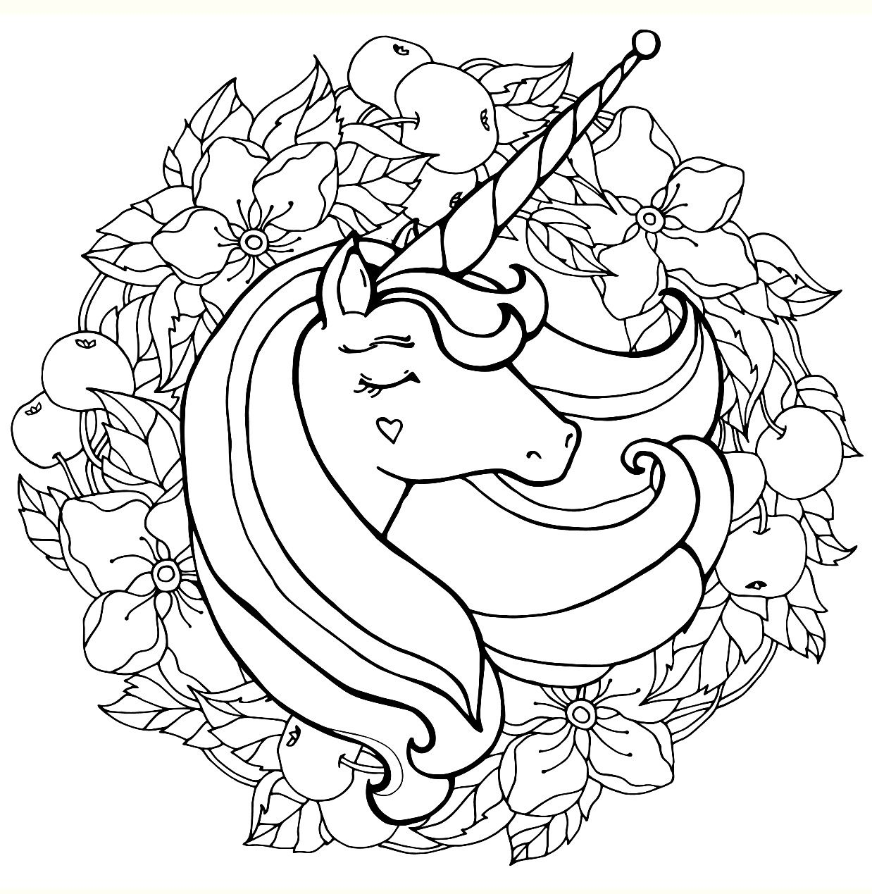 Pin by Mary Singletary on Unicorns 20 Coloring pages