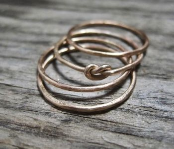 Stacking Knot Rings