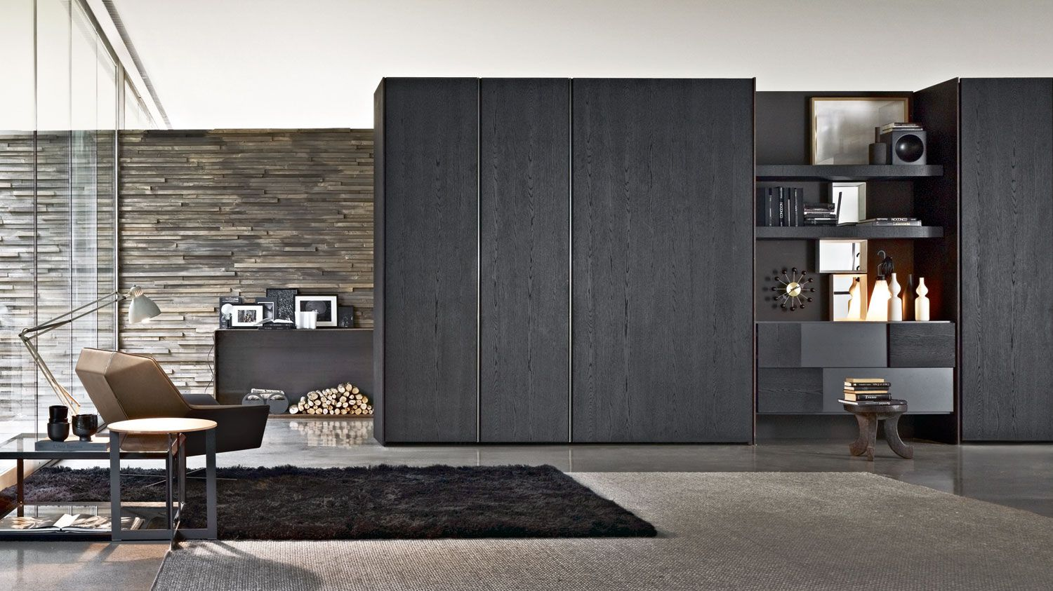 Gliss Quick flush sliding Wardrobes Molteni & C