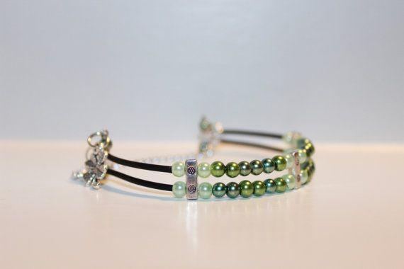 St. Patrick's Day Bracelet by CrittlesCreations on Etsy