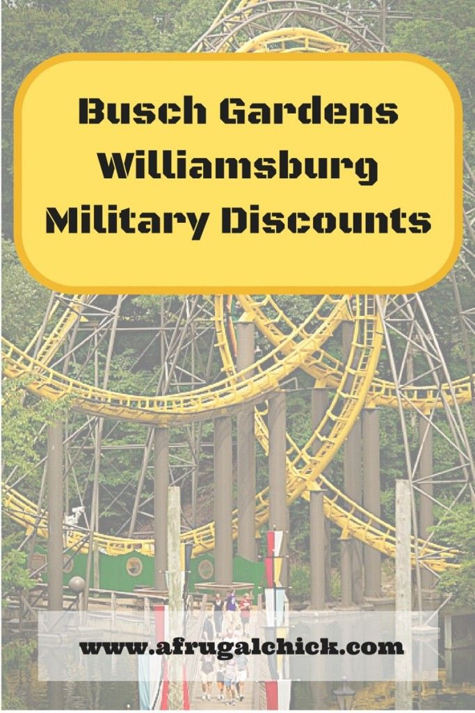 Busch Gardens Military Discounts Updated For 2018 Road Trips And Vacation