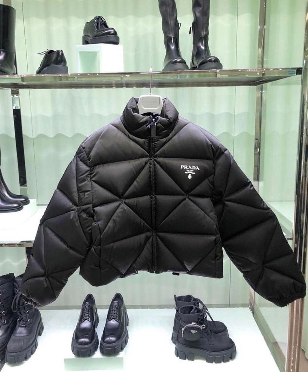 Unreap On Instagram Prada Puffer Jacket Unreap In 2021 Fashion Prada Jacket Prada [ 1306 x 1080 Pixel ]