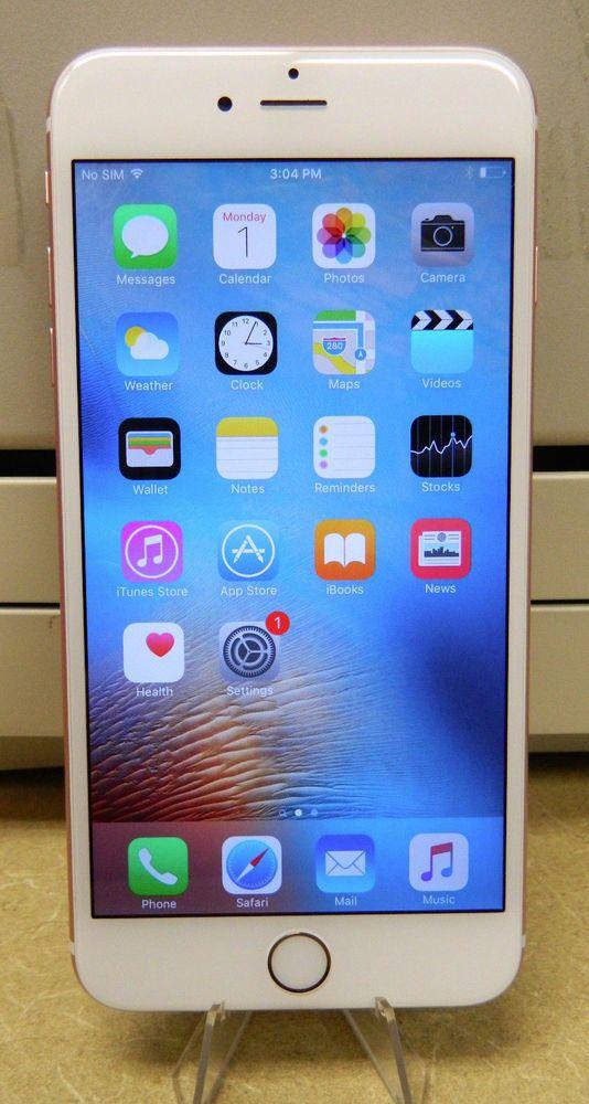 Apple Iphone 6s Plus 64gb Rose Gold Verizon Mkve2ll Factory