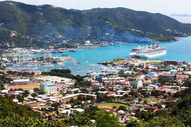 Port Of Roadstown Tortola British Virgin Islands
