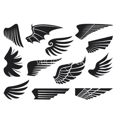 gallery for > falcon wings silhouette | civic | pinterest