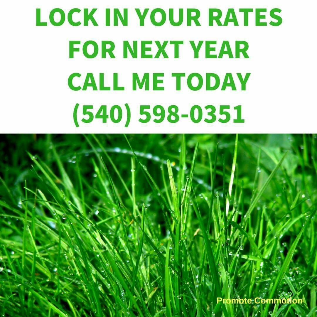 Time To Lock In Rates For Next Season With Helping Hands Lawn Care