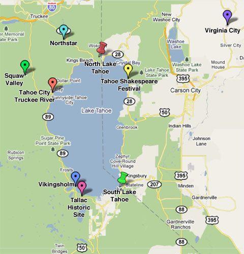 Lake Tahoe Photo Driving Tour Lake tahoe Lakes and Photos