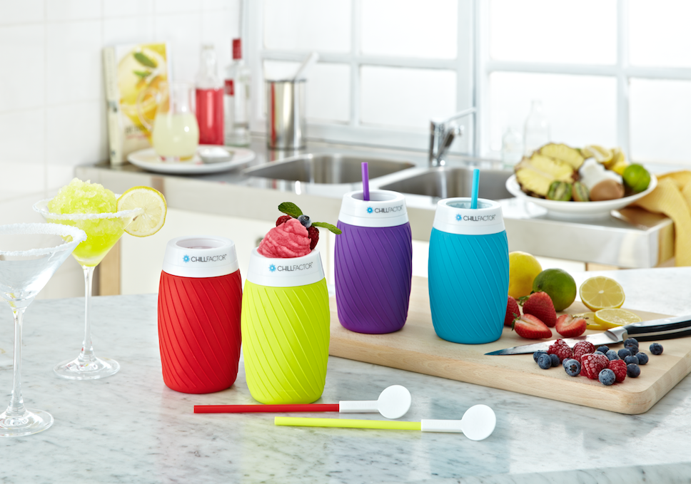 Fancy yourself a cocktail master?  The new Colour Blast Ice Twist is perfect for entertaining and making a cocktail of creations! Just freeze, squeeze, and enjoy!