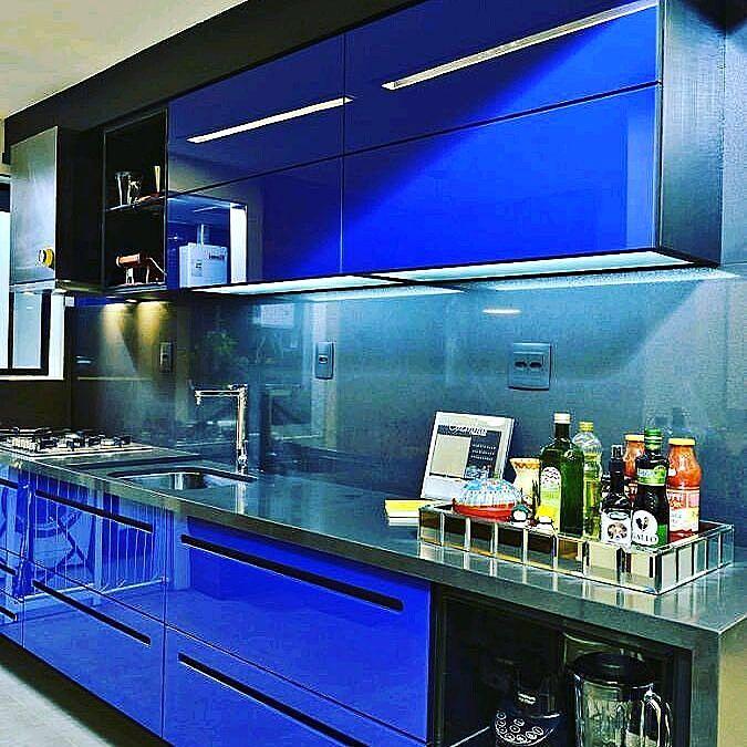Kitchen Set Aluminium Sederhana Dapur Kontemporer Desain Dapur Modern Modern