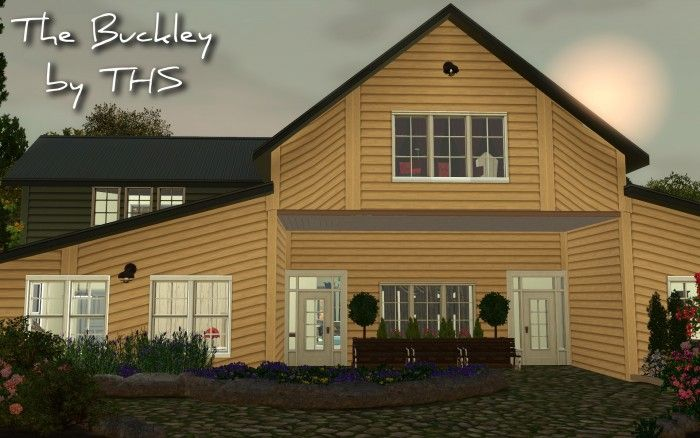 The Buckley House By Tee Hee She Sims 3 Downloads Cc Caboodle Sims Sims 3 House