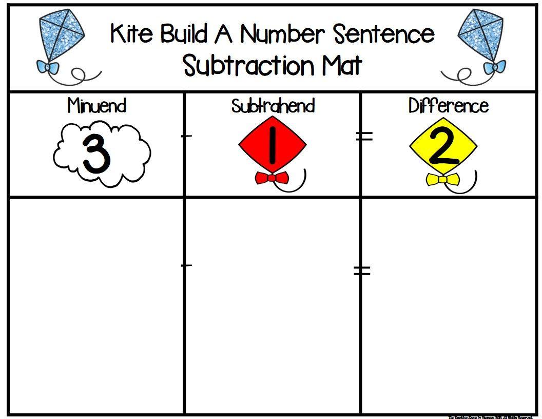 Kites Build 2 Addend 0 20 Addition Amp Subtraction Number