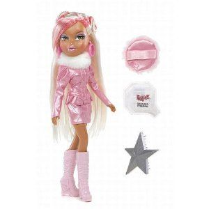 Bratz Platinum Shimmerz Sasha By Mga Entertainment 14 90 Two Tone Color Hair Pink Shimmering Dr Bratz Doll Outfits Betsy Johnson Shoes Shimmer Dress