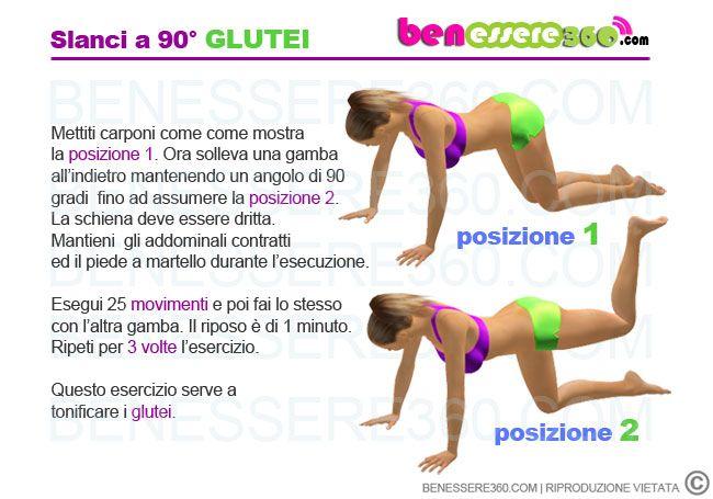 Esercizi glutei cerca con google workout pinterest for 5 esercizi per interno coscia