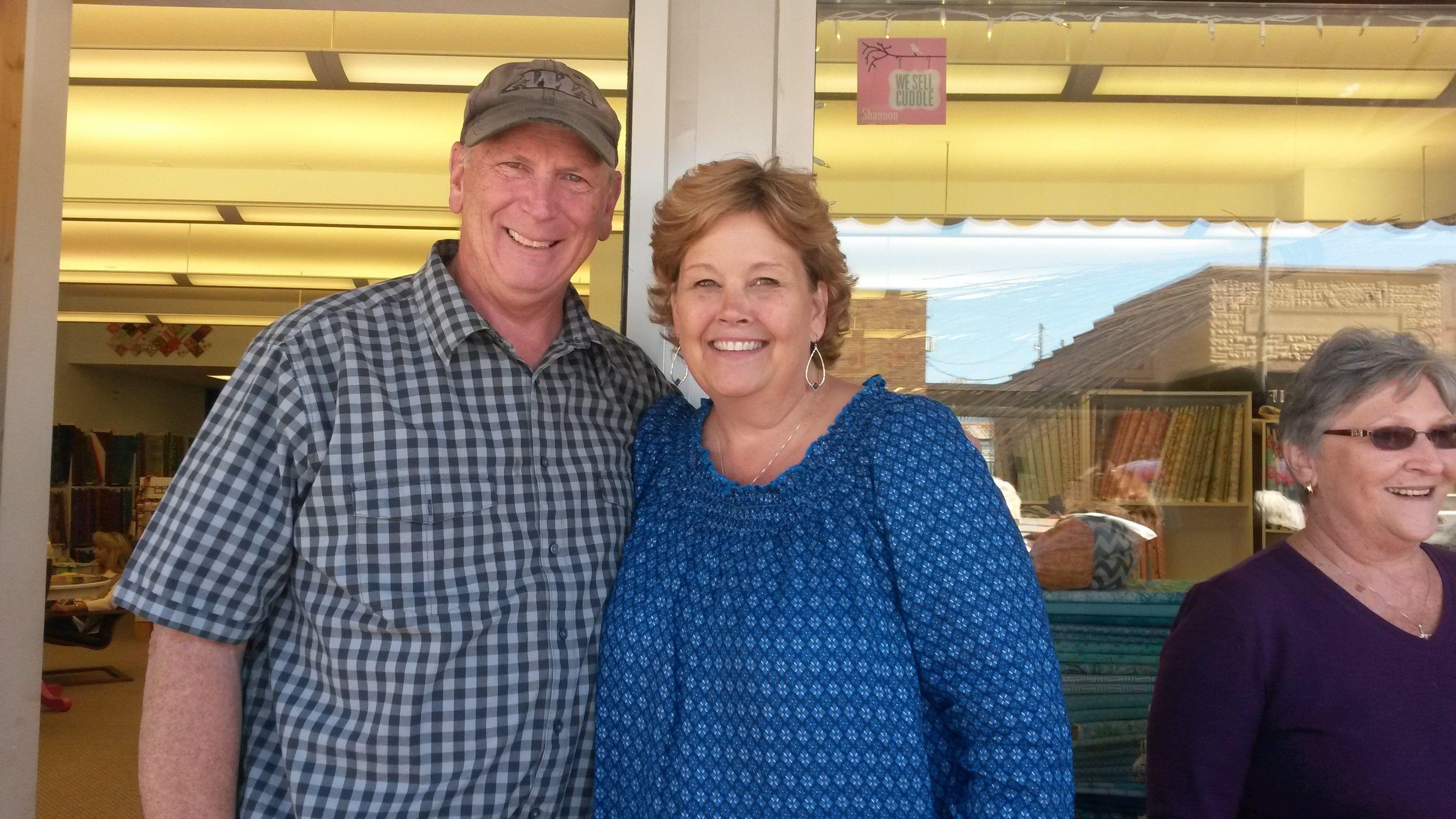 Jenny And Ron Doan Hamilton MO Missouri Star Quilt Company