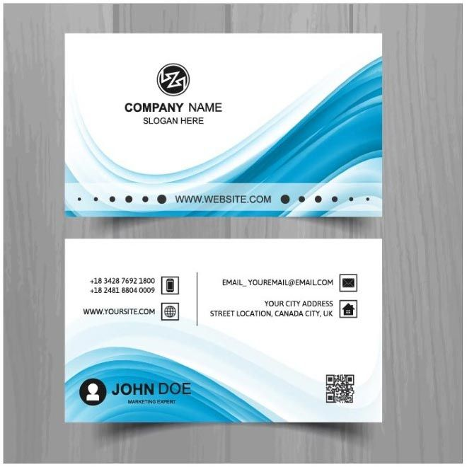 free vector Creative Design business cards Template    www - blank business card template