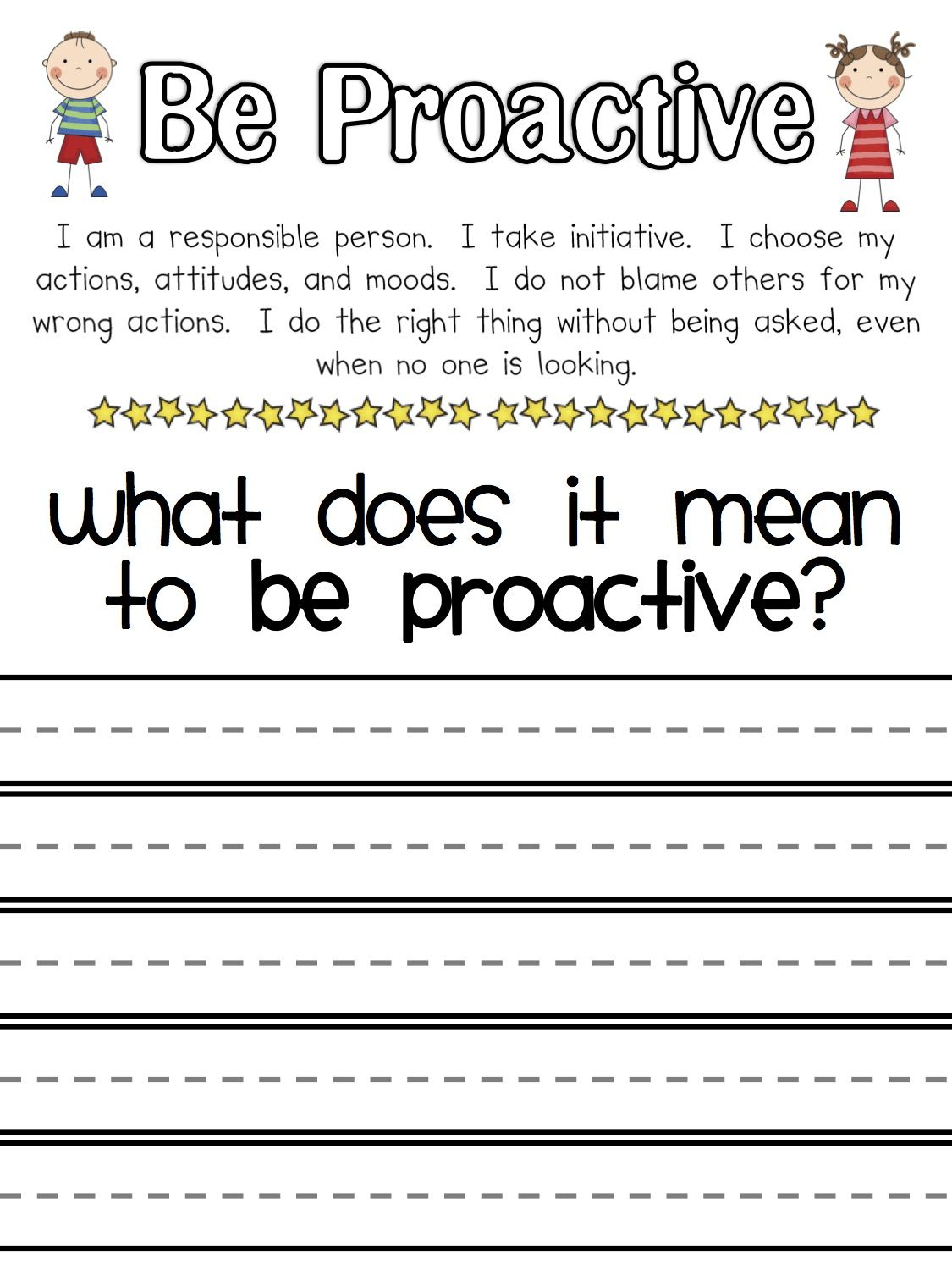 Proactive Writing Amy With Images