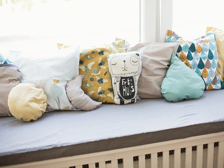 DIY-Anleitung: Kissen in verschiedenen Formen fürs Kinderzimmer ...