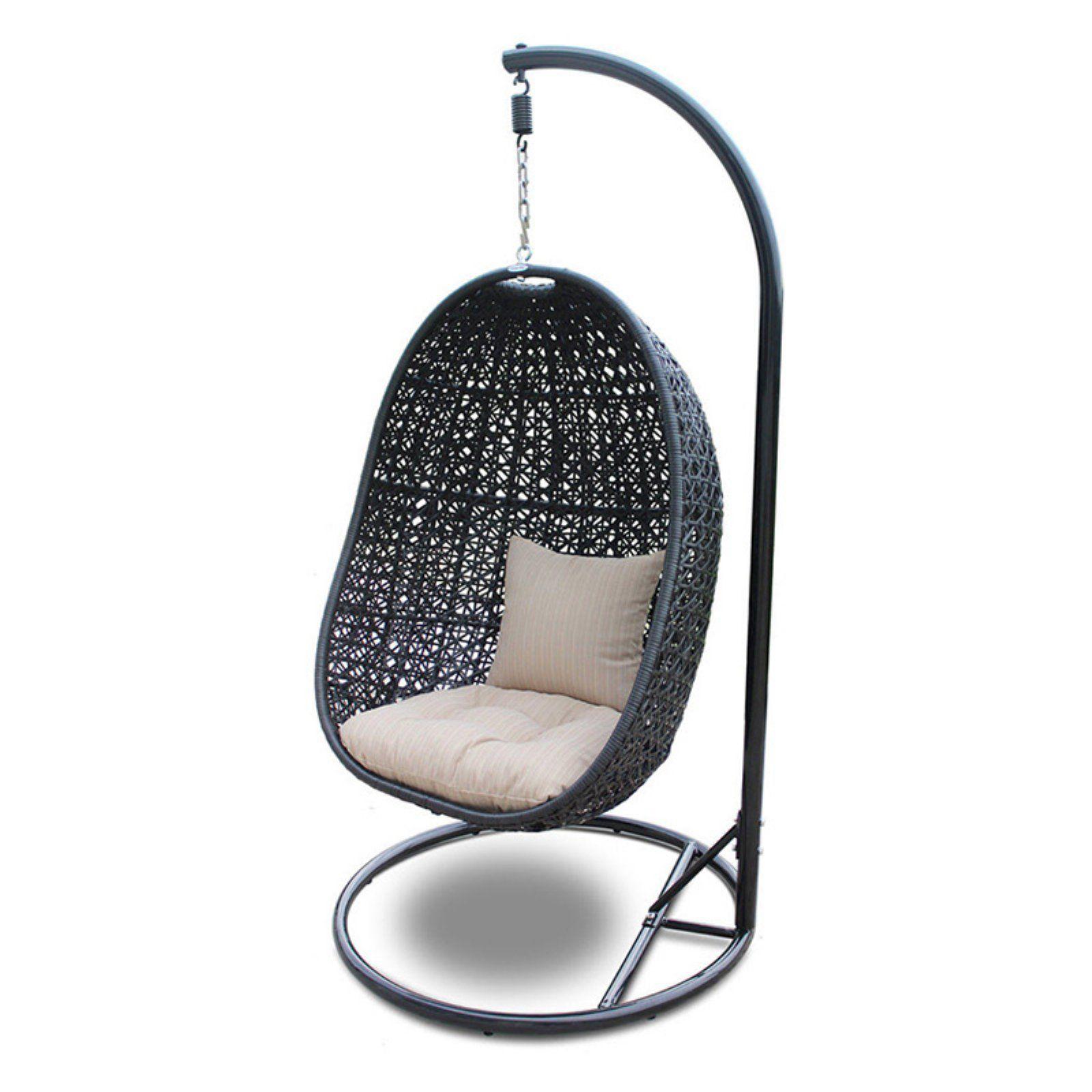 Outdoor harmonia living nimbus resin wicker hanging basket