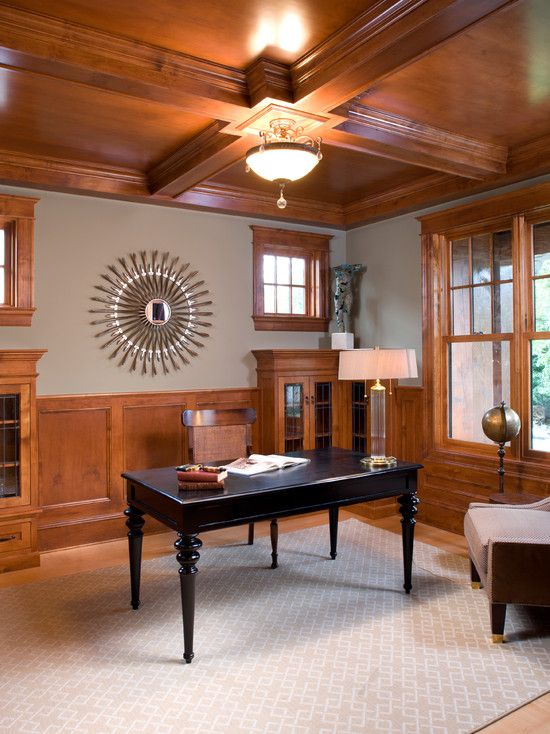 Traditional Home Office Design, Pictures, Remodel, Decor and Ideas