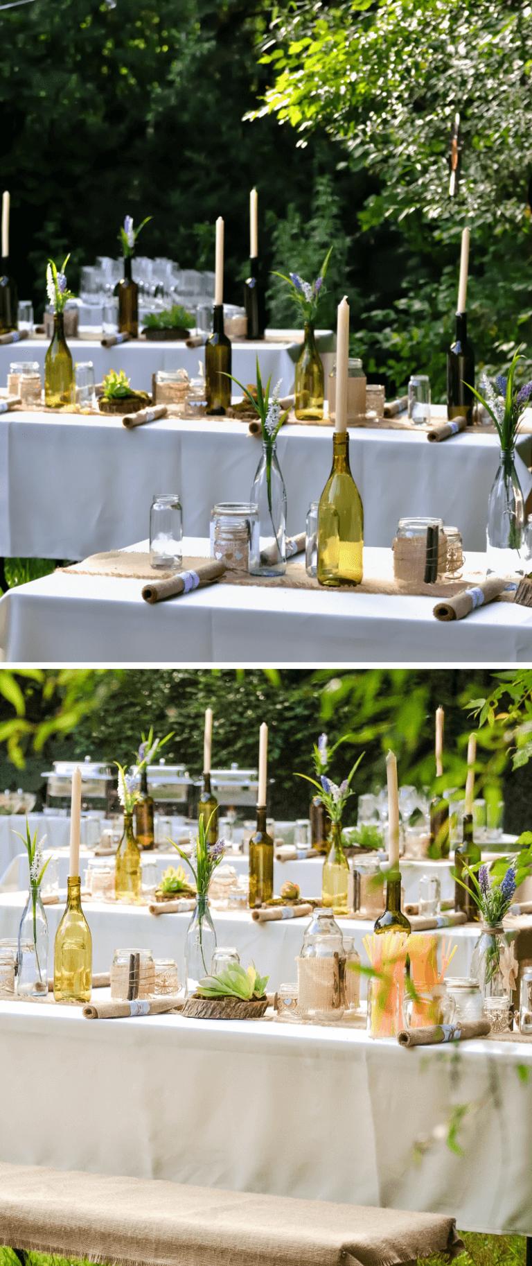 Photo of 35 originale ideer til borddekorasjon til bryllupet – bryllupskasse
