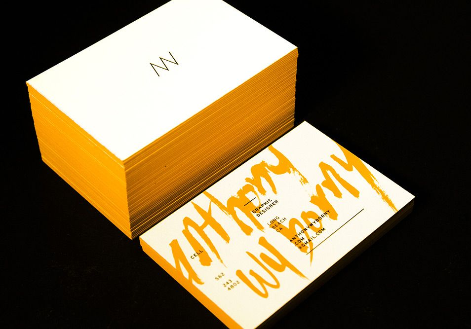 Graphic Design Inspiration Minimalist Business Cards