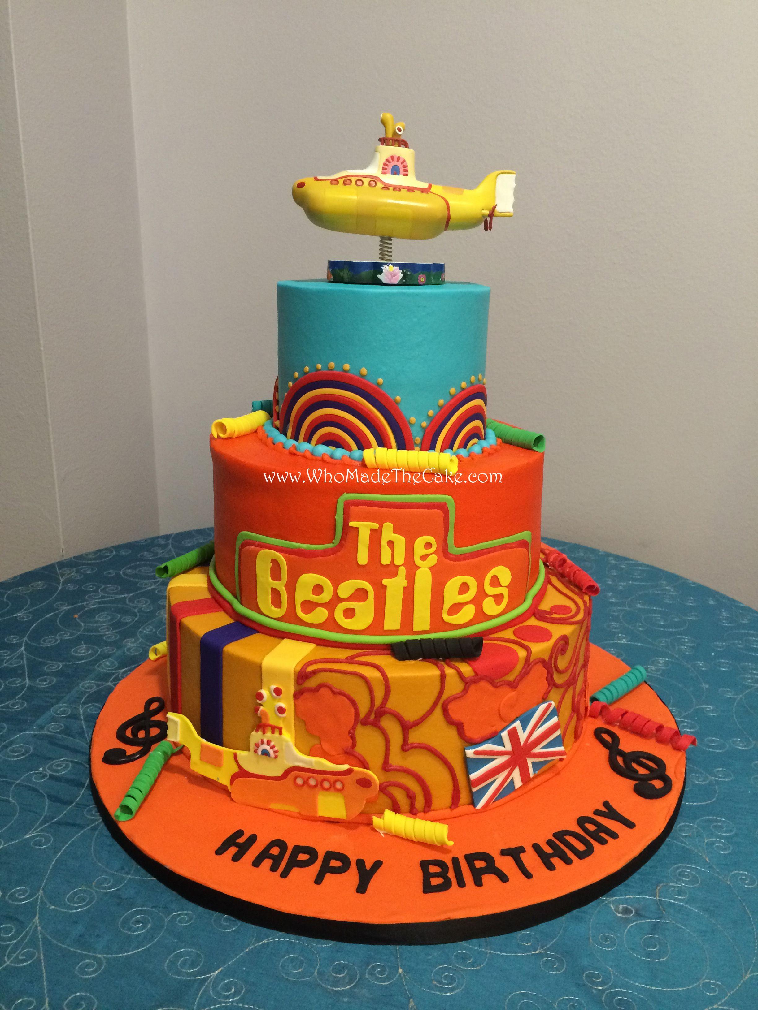Beatles cake cake beatles cake birthday cake