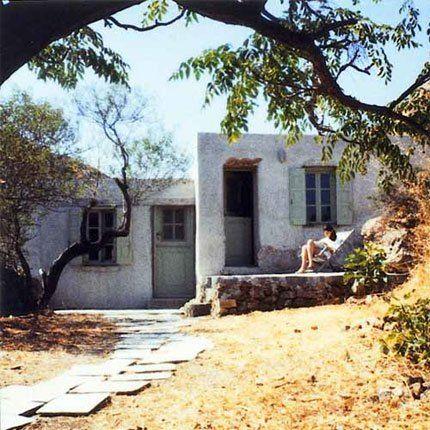Une Maison De Plage En Grèce Au Charme D Antan Casas De