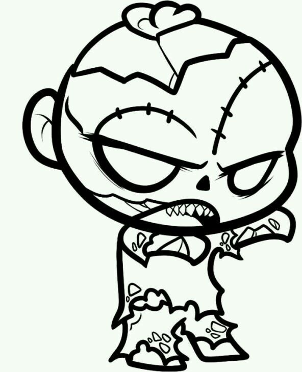 Pin By Marilu On Cosas Que Adoro Cartoon Coloring Pages Zombie Cartoon Zombie Clipart