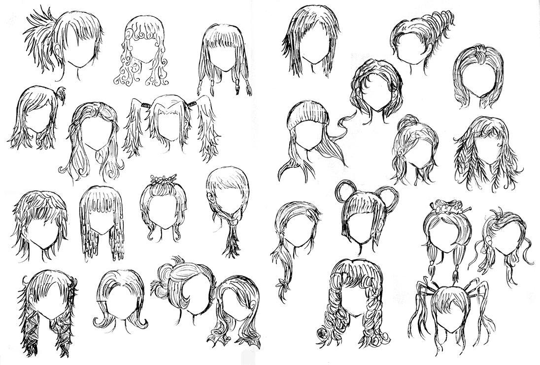 Weird Hairstyles By DNA-lily.deviantart.com On @deviantART