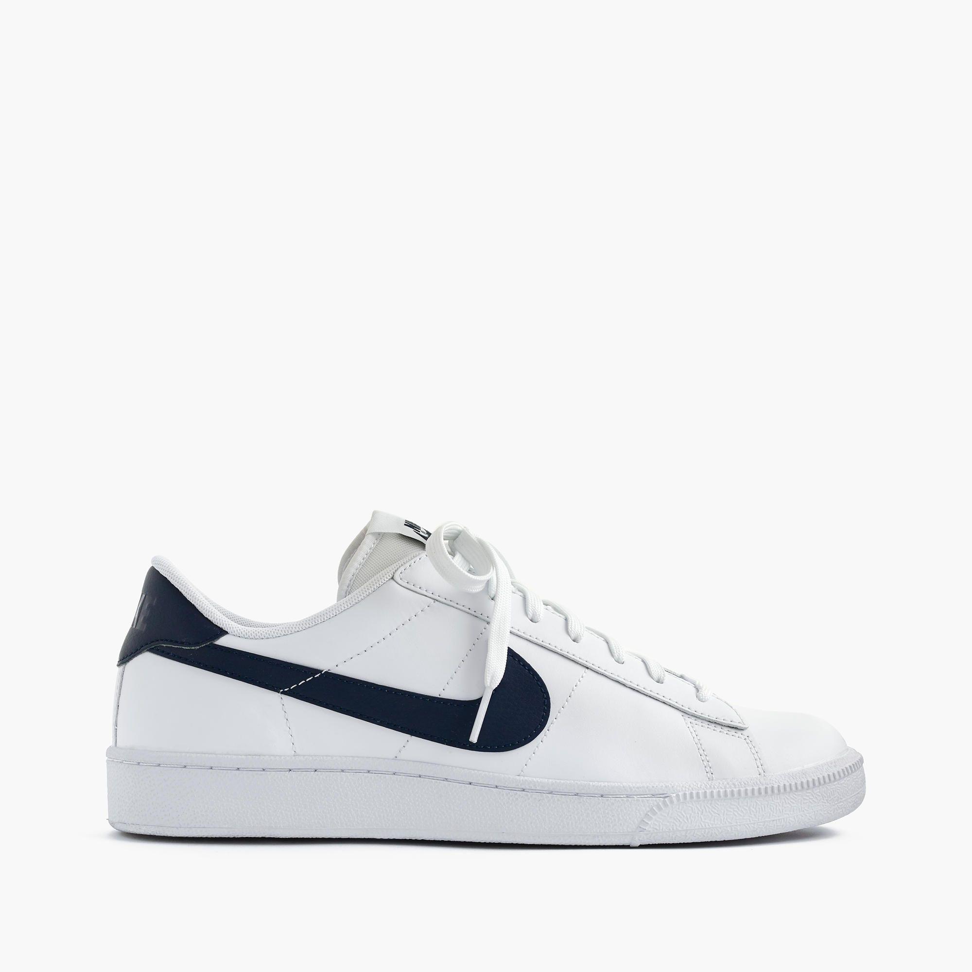 Nike Tennis Classic Sneakers In White : Men's Sneakers