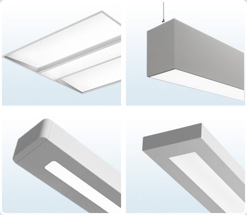 Finelite Direct Indirect And Recessed Lighting Led Task Light Energy Efficient Lighting Library Lighting