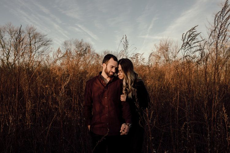 Photo of Woodsy Winter Rhode Island Engagement Session | New England Wedding Photographer — Lauren Fletcher