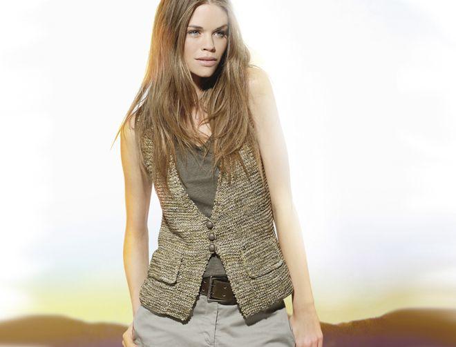 Modele veste femme laine katia alpacotton